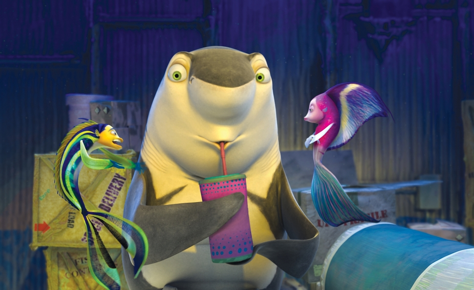 The awful, Oscar-nominated Shark Tale shows how far animation has come